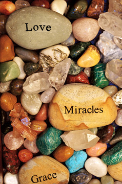 Reiki is: Love, Miracles, Grace